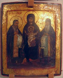 Икона Богоматери Печерской (Свенской)