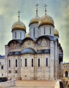 Успенский собор Московского Кремля. Фото из архива НИИТИАГ, предоставлено А.В. Слезкиным