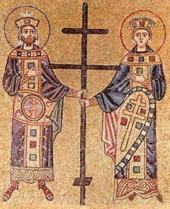 Воздвижение Креста Господня. Равноапостольные Константин и Елена