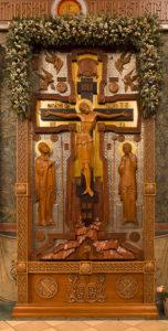 Распятие Иисуса Христа. Московский Сретенский монастырь