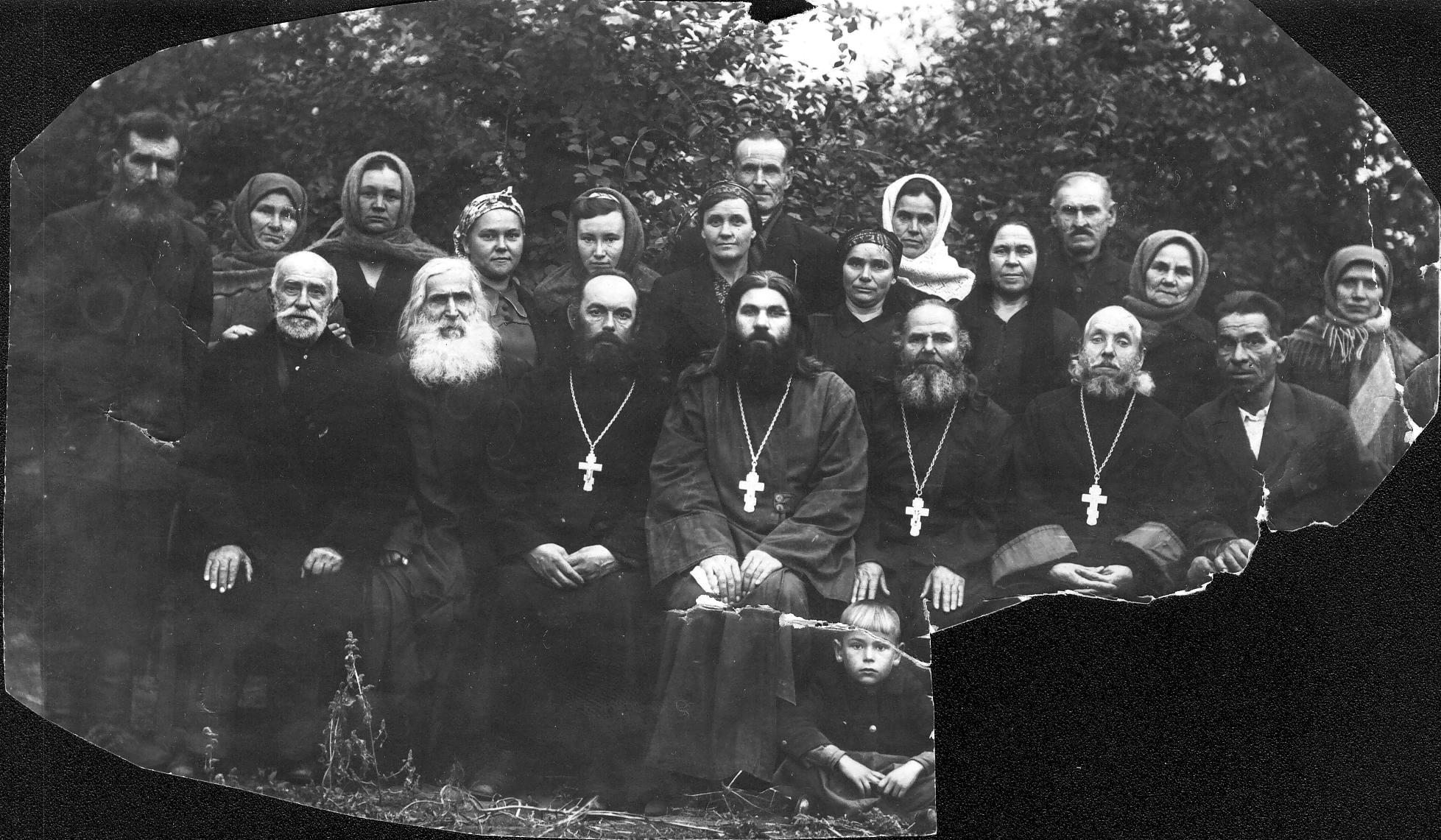 Старец Филипп и Богородица Луганская