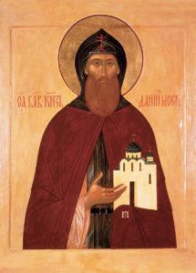 Святой блг. князь Даниил Московский