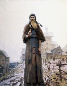 Картина Сергея Кириллова. Преподобный Сергий Радонежский (Благословление)