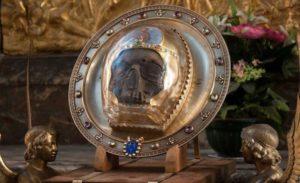 Лицевая часть главы св. Иоанна Предтечи_Амьен, Франция